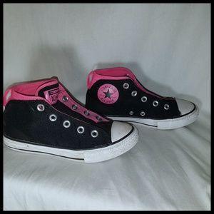 Black and Pink Chucks